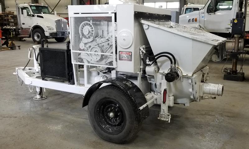 Schwing 750-18 trailer pump - Irving Equipment