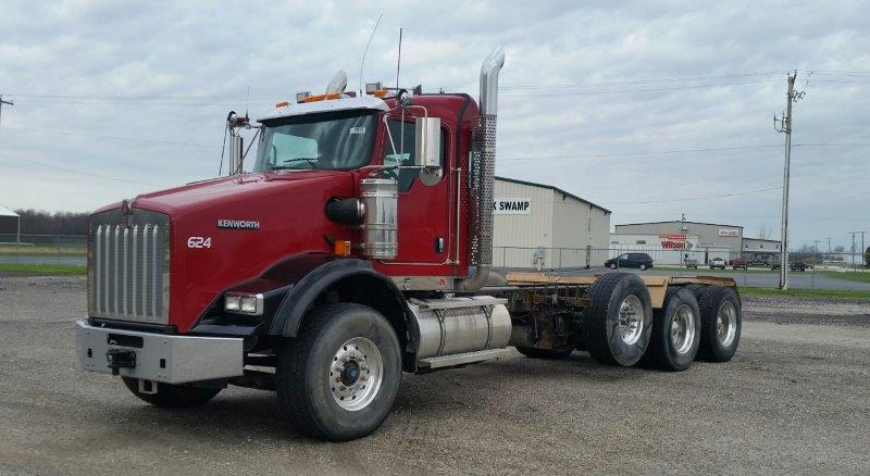 1- used 2012 Kenworth Cab and Chassis
